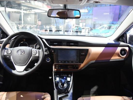 一汽丰田 卡罗拉双擎E+ 2019款 1.8L 旗舰版