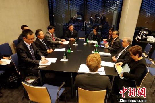 中国生态环境部部长出席联合国气候变化卡托维兹大会领导人峰会