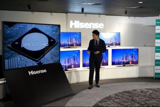 日本率先普及4K频道,海信电视销量大增36.8%