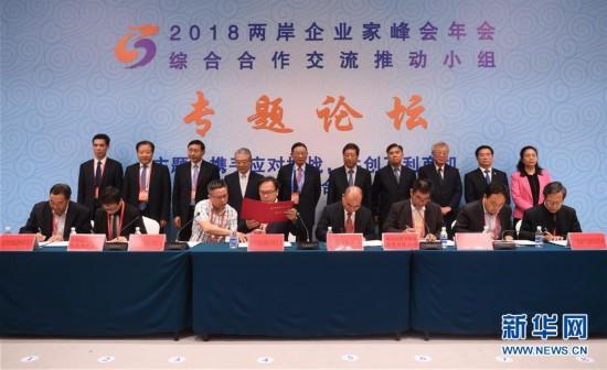 (社会)两岸企业家峰会年会签约现代农业合作项目投资逾23亿元