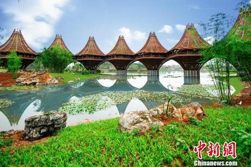 第十二届中国国际园林博览会开幕首次面向东盟国家