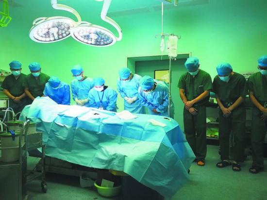 ○向捐献器官者致敬
