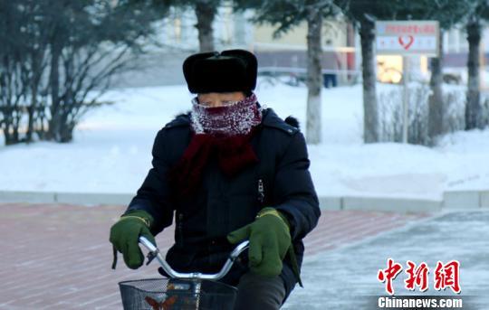 """大雪节气""""中国最冷小镇""""呼中气温突破-40℃"""
