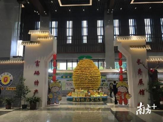 本届客家文博会亮点之一:富硒长寿文化馆。