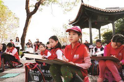画笔描绘美丽惠州