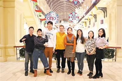 <b>在俄罗斯展示 积极向上的中国青年形象</b>