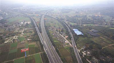 成乐高速扩容改道近8公里