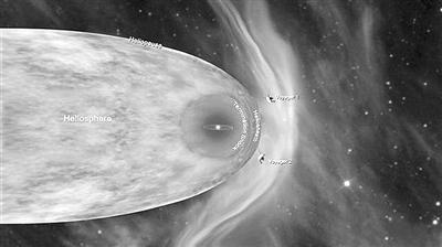 """NASA宣布""""旅行者2号""""飞出日光层"""