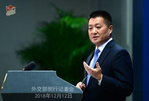 外交部回应加拿大前外交官康明凯在京被捕
