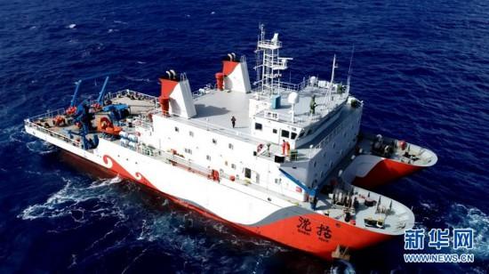"""(图文互动)(1)""""彩虹鱼""""第二代着陆器成功进行万米级海试"""