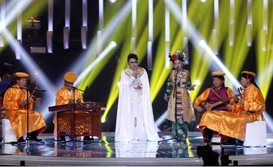 腾格尔助力《中国藏歌会》收官 扎西平措、旦增尼玛双冠同台