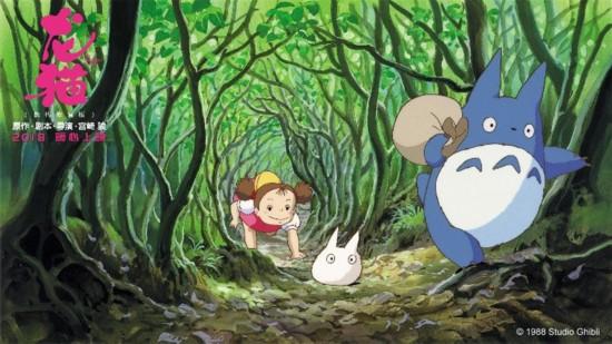 宫崎骏《龙猫》公映 五大看点打造年度最暖