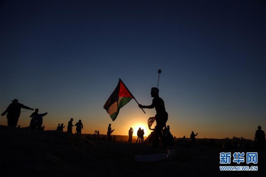 (国际)(2)巴以冲突造成一名巴勒斯坦人死亡逾百人受伤