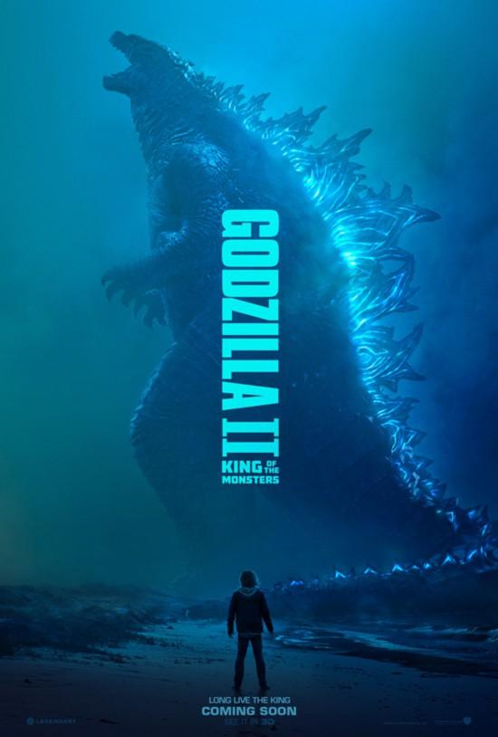 《哥斯拉2:怪兽之王》怪兽角色海报震撼亮相