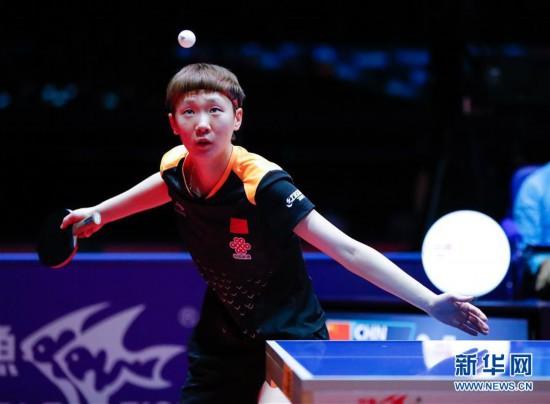 (体育)(6)乒乓球――国际乒联总决赛:陈梦胜王曼昱