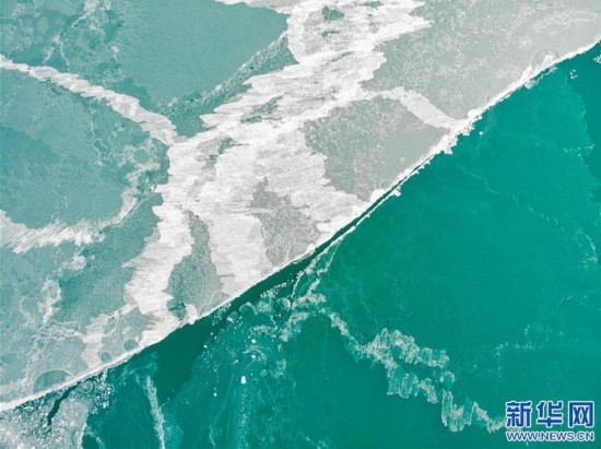 (新華視界)(1)西藏:色林錯冬景怡人