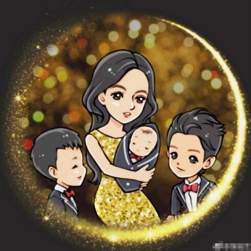 张柏芝承认诞下三胎 晒母子手绘图十分温馨