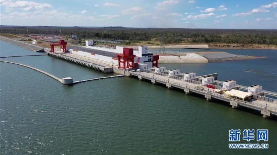 (国际)(2)柬埔寨桑河二级水电站举行竣工投产仪式