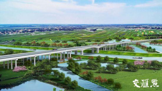 高淳至宣城高速公路效果图