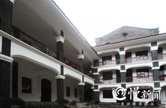 歇山屋顶、西式回廊 中山一路藏着神秘小楼