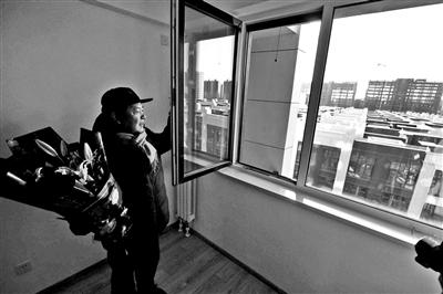 望坛棚改项目首批居民住新房