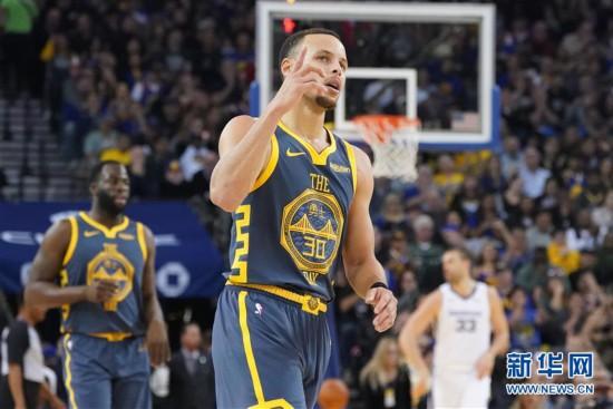 (体育)(1)篮球――NBA常规赛:勇士胜灰熊