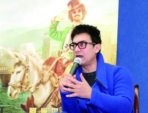 阿米尔汗南京宣传《印度暴徒》:角色像韦小宝