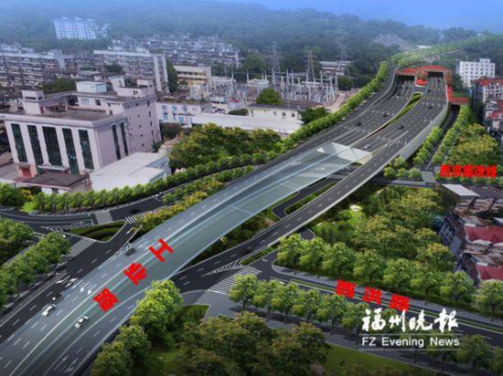 福州工业北路延伸线工程南段动建 工期20个月