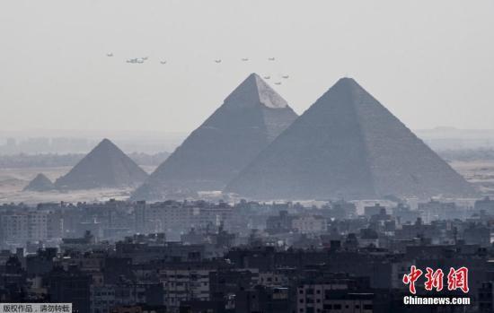 资料图:埃及金字塔。