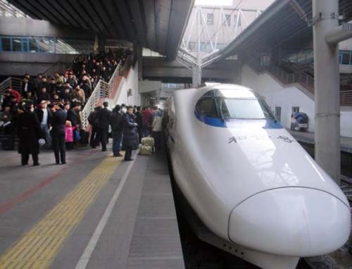2007年,北京西站。受访者供图