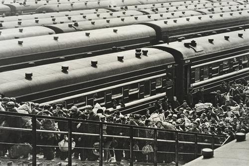 车站。受访者供图