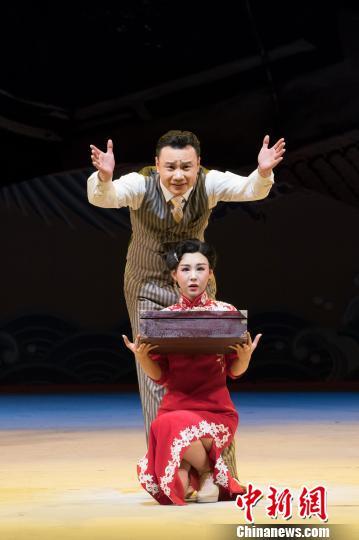 北京人艺年度收官之作《名优之死》登台