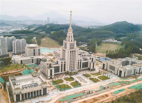 深圳北理莫斯科大學進入裝修階段
