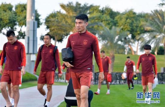 (新华视界)(4)足球――中国队多哈备战