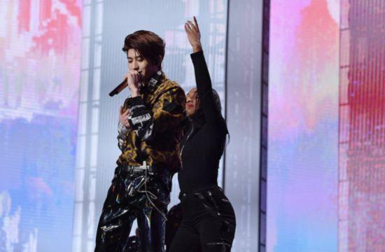 NINEPERCENT队长蔡徐坤获年度偶像人物 专注音乐不忘初心