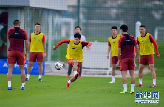 (新华视界)(3)足球――中国队多哈备战