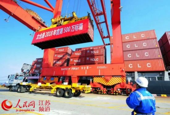 海事一周:太仓港集装箱吞吐量突破500万标箱