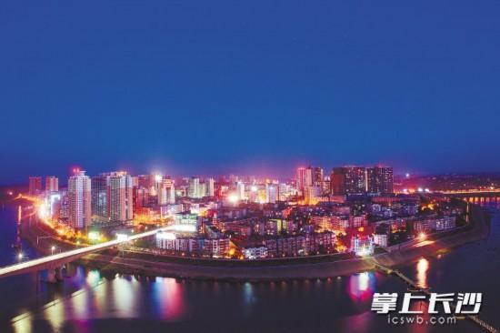 永州城市夜景