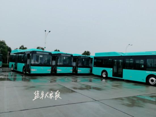 鹽城新增170輛新能源公交車五大設備保障乘客安全