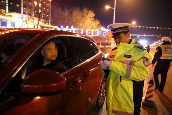 48人被查处!24日晚宁夏交警开展酒驾查处统一行动