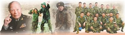 2018,凝视中国军人挺立如山的热血背影
