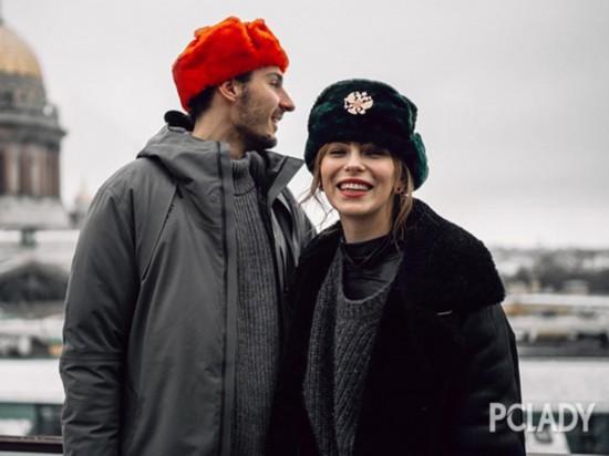一顶帽子秒变不一样 都市丽人冬天最爱...