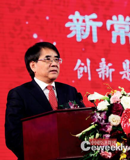 科技部副部长张来武在中国经济论坛开幕式上发外主旨演讲