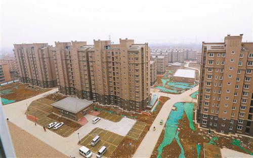 春节在新房过 徐州棚改大黄山安置房一期上房