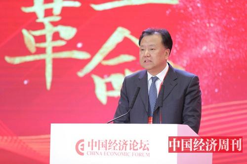 阎庆民 (《中国经济周刊》首席摄影记者 肖翊 摄)