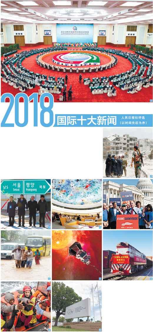 人民日报社评选:2018国际十大新闻