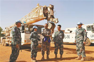 我赴马里维和警卫、工兵分队高标准通过综合能力评估