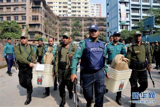 (国际)(1)孟加拉国大选准备工作接近尾声