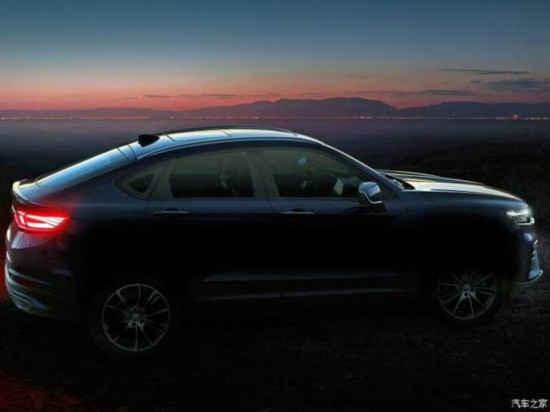 基于CMA架构打造 吉利全新轿跑SUV预告