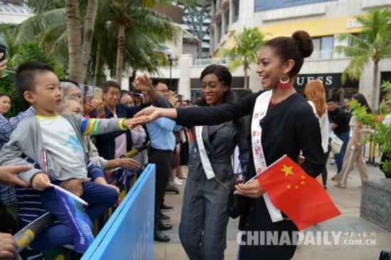 """2018阿根廷世界小姐为中国""""代言"""":这里美得让人流连忘返"""